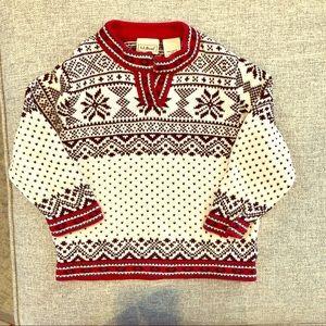 Toddler Girls Size 2T LL Bean Ski Sweater
